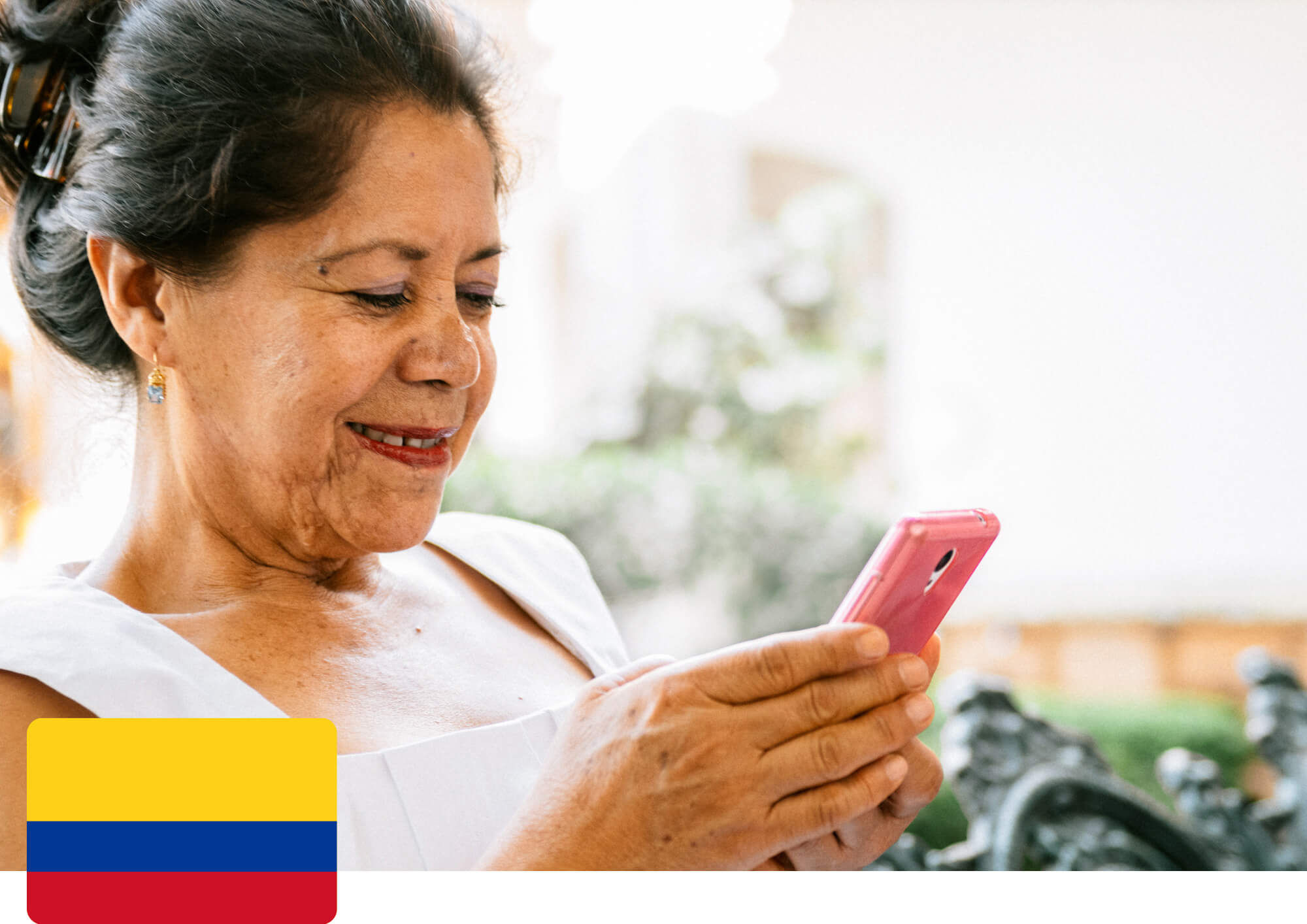 We are here to help you send money to Colombia