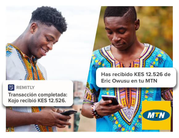 Send to MTN