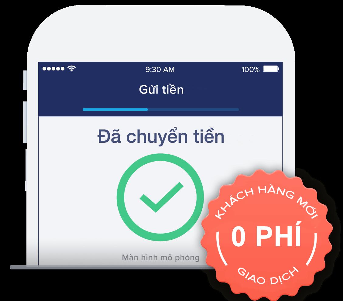 Gửi tiền đến Việt Nam chỉ trong ít phút