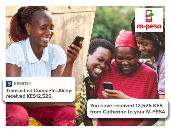 Send to M-pesa