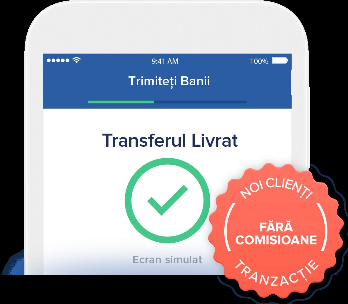 Transfer gratuit pentru clienții Remitly noi