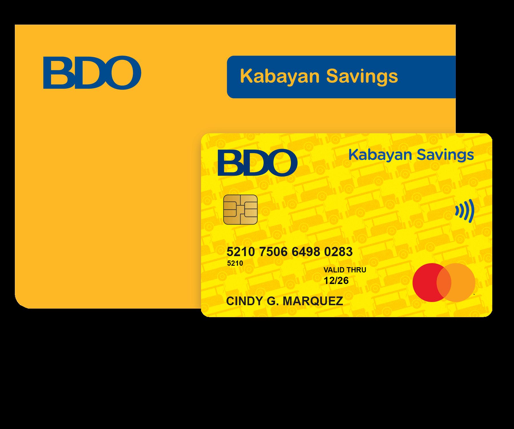 Send money to BDO