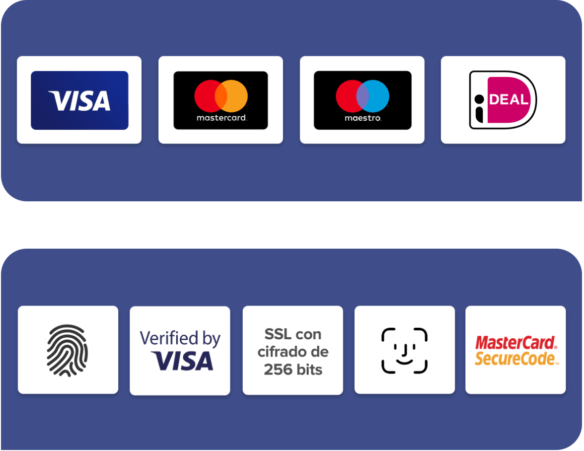 Pay securely
