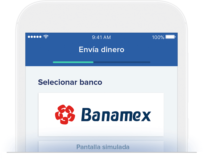 Send money to Banamex