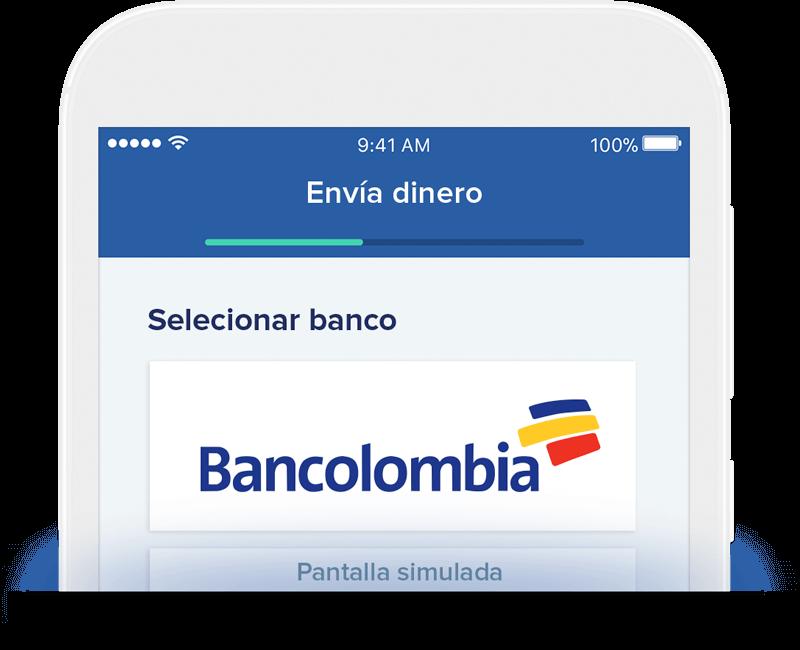 Send money to Banamex