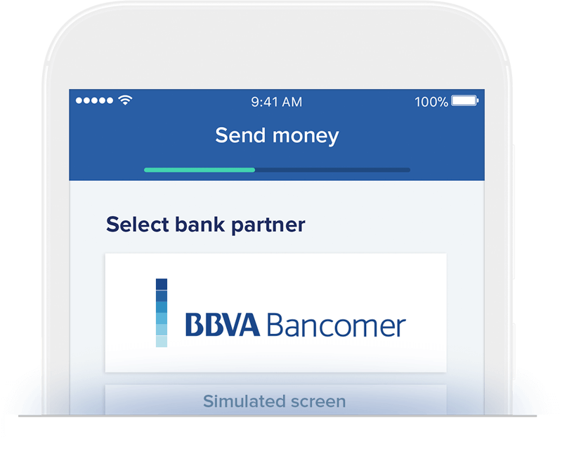 Send money to BBVA Bancomer