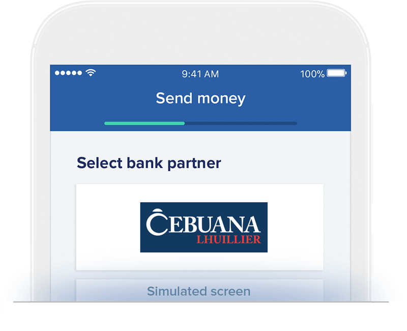 Send money to Cebuana