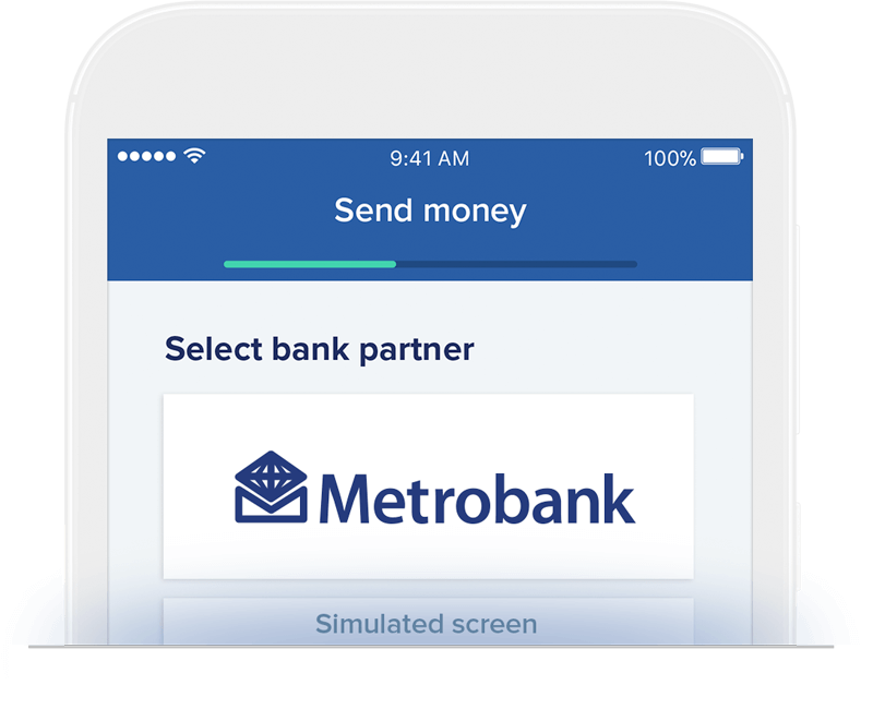 Send money to Metrobank